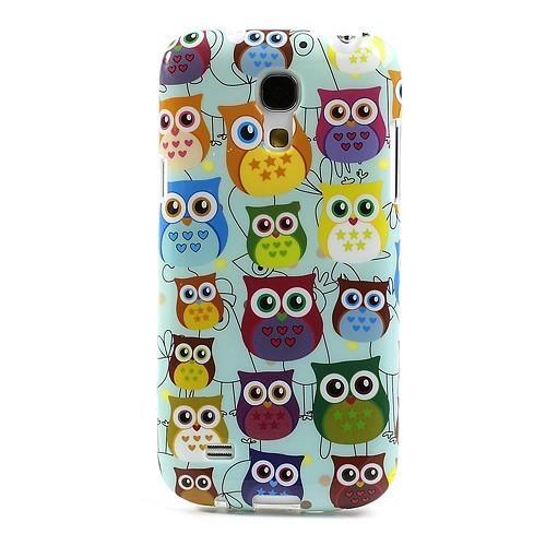 Силиконовый чехол для Samsung Galaxy S4 mini Owl