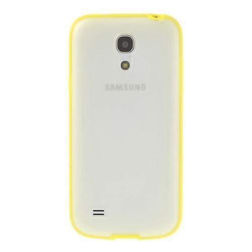 Силиконовый чехол для Samsung Galaxy S4 mini Crystal and Yellow