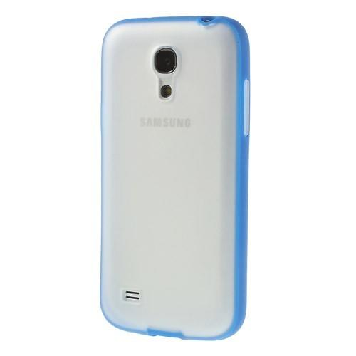 Силиконовый чехол для Samsung Galaxy S4 mini Crystal and Dark Blue