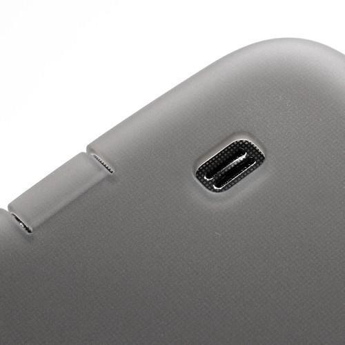 Силиконовый чехол для Samsung Galaxy Mega 6.3 серый