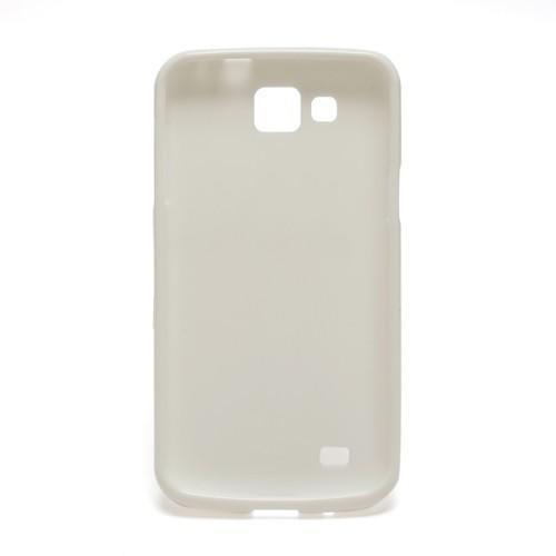 Силиконовый чехол для Samsung Galaxy Premier белый