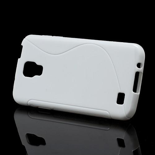 Силиконовый чехол для Samsung Galaxy S4 Active белый