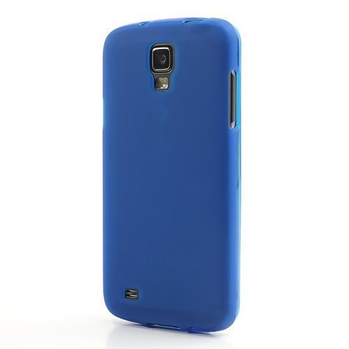 Силиконовый чехол для Samsung Galaxy S4 Active синий