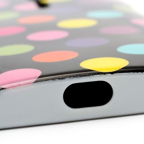 Силиконовый чехол для Sony Xperia S черный Bubble
