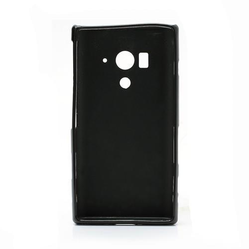 Силиконовый чехол для Sony Xperia Acro S черный Bubble