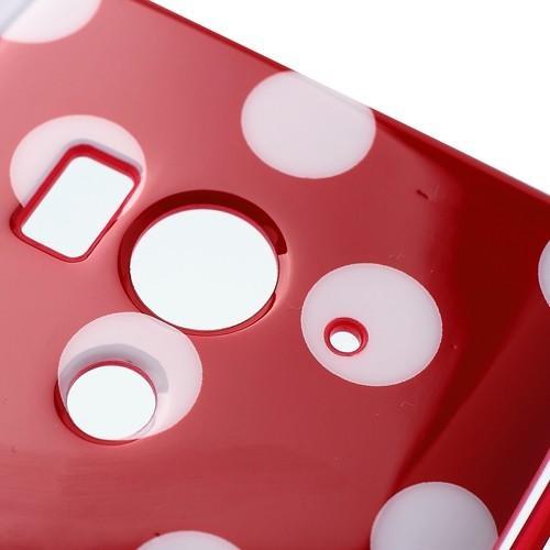 Силиконовый чехол для Sony Xperia Acro S красный Bubble