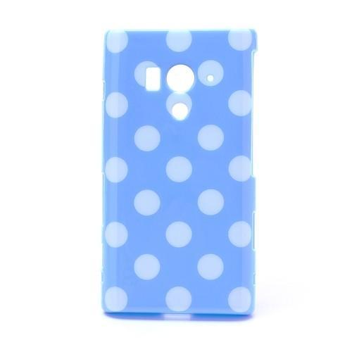 Силиконовый чехол для Sony Xperia Acro S голубой Bubble