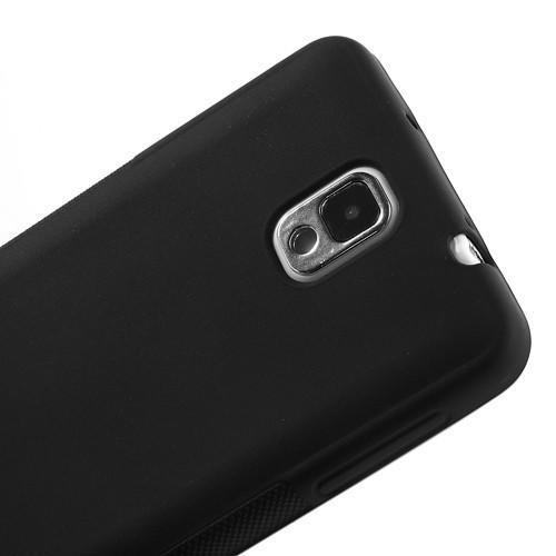 Силиконовый чехол для Samsung Galaxy Note 3 черный
