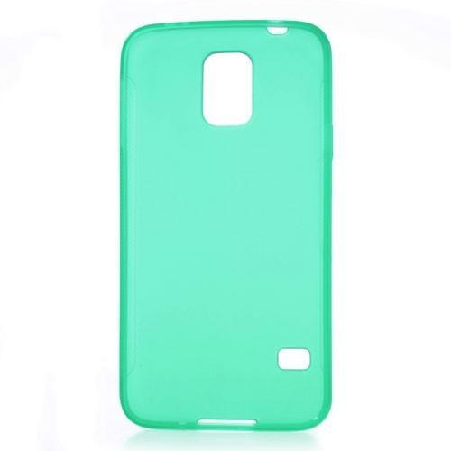 Силиконовый чехол для Samsung Galaxy S5 зеленый