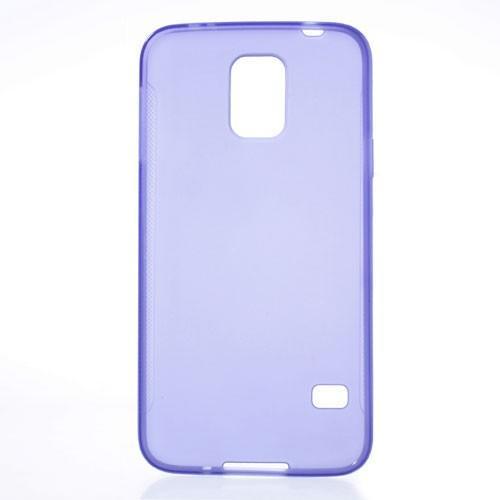 Силиконовый чехол для Samsung Galaxy S5 фиолетовый