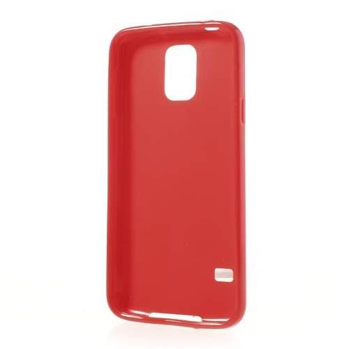 Силиконовый чехол для Samsung Galaxy S5 красный