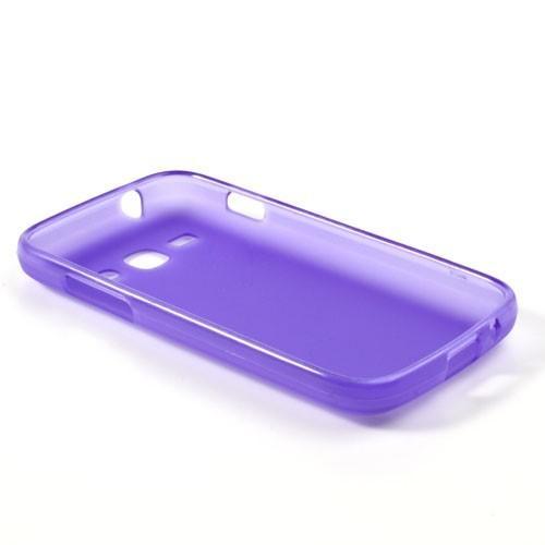 Силиконовый чехол для Samsung Galaxy Ace 3 фиолетовый