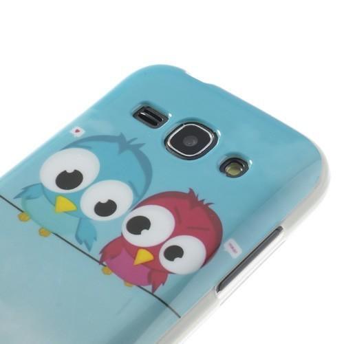 Силиконовый чехол для Samsung Galaxy Ace 3 Friendly Birds