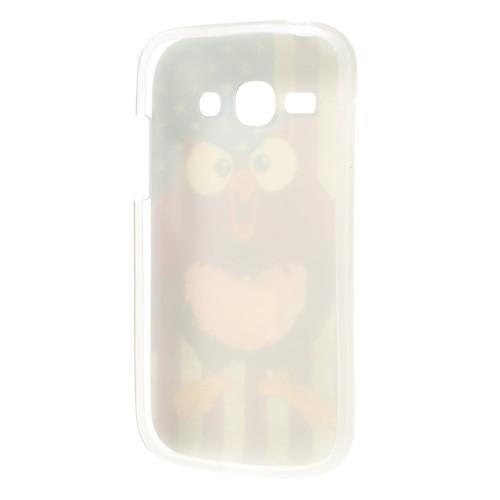Силиконовый чехол для Samsung Galaxy Ace 3 American owl