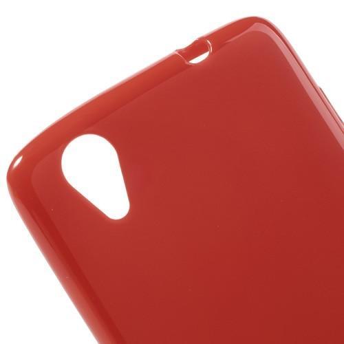 Силиконовый чехол для Lenovo Vibe X красный