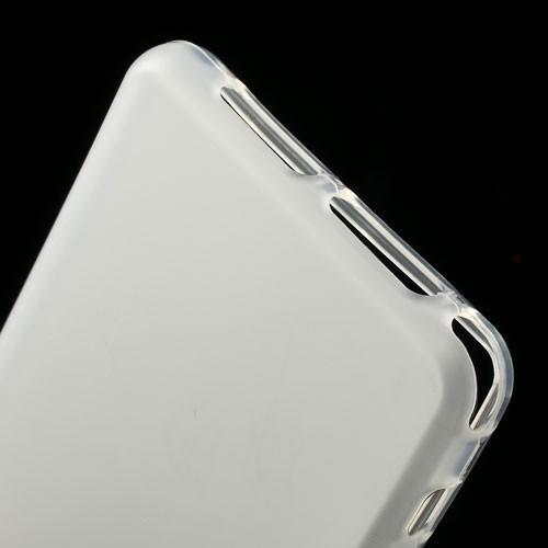 Силиконовый чехол для Sony Xperia Z1 Compact белый Flexishield