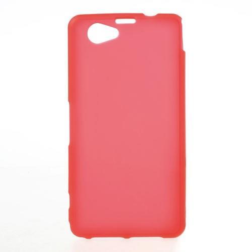 Силиконовый чехол для Sony Xperia Z1 Compact красный