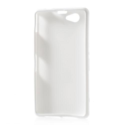 Силиконовый чехол для Sony Xperia Z1 Compact белый