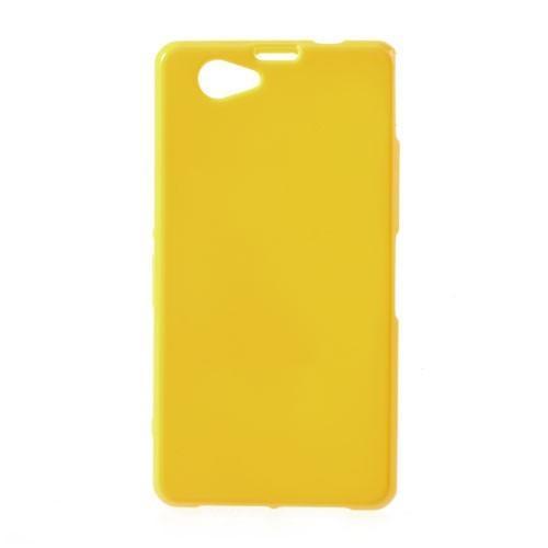 Силиконовый чехол для Sony Xperia Z1 Compact желтый