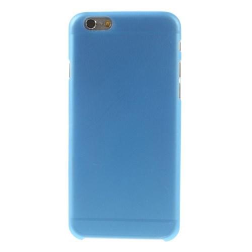Ультратонкий пластиковый чехол для iPhone 6 синий