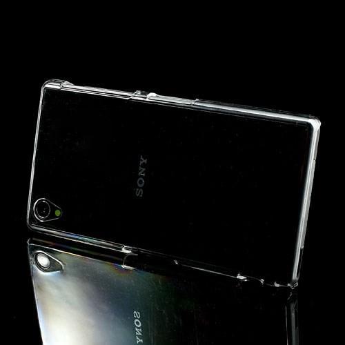 Кейс чехол для Sony Xperia Z1 прозрачный
