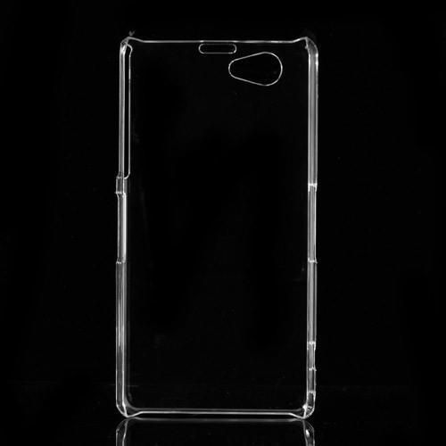 Кейс чехол для Sony Xperia Z1 Compact прозрачный