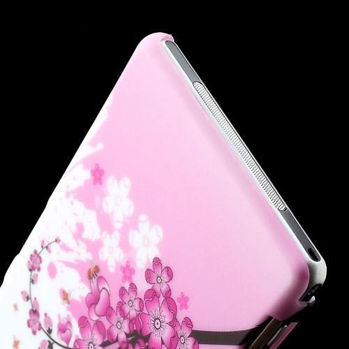 Кейс чехол для Sony Xperia Z1 с орнаментом Sakura