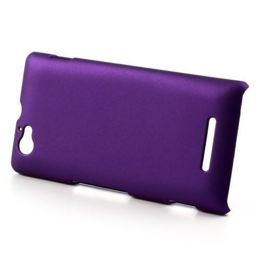 Кейс чехол для Sony Xperia M фиолетовый
