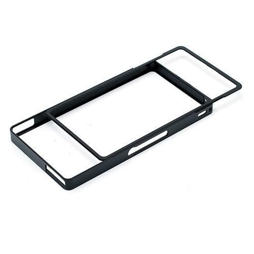 Алюминиевый бампер для Sony Xperia Z черный
