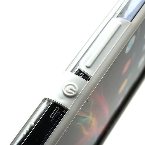 Бампер для Sony Xperia Z белый