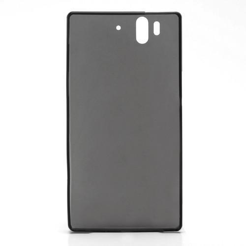 Ультратонкий кейс чехол для Sony Xperia Z черный
