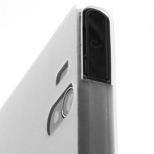 Ультратонкий кейс чехол для Sony Xperia Z белый