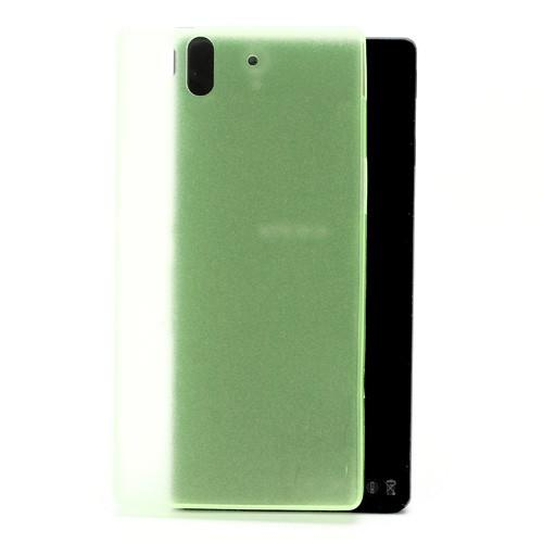 Ультратонкий кейс чехол для Sony Xperia Z зеленый