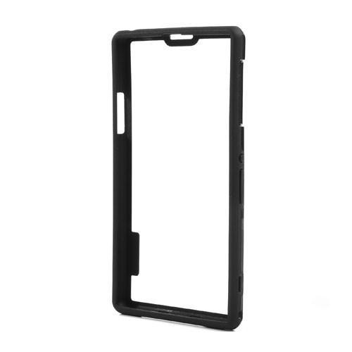 Силиконовый бампер для Sony Xperia Z1 черный