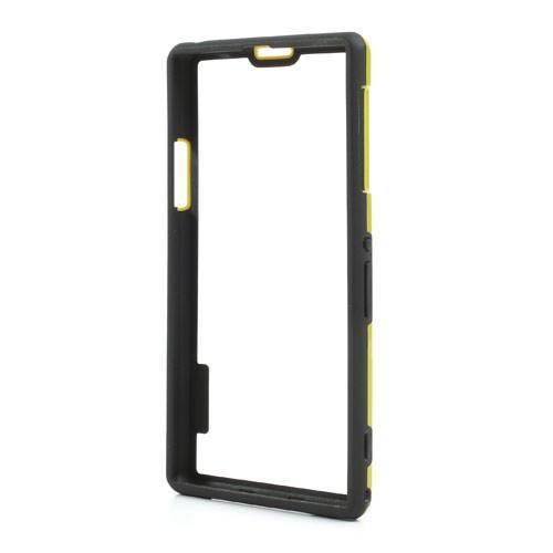 Силиконовый бампер для Sony Xperia Z1 желтый