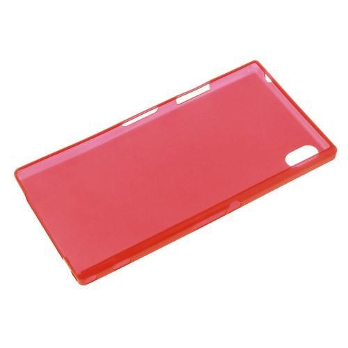 Ультратонкий кейс чехол для Sony Xperia Z1 красный