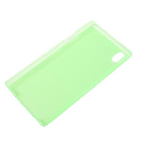 Ультратонкий кейс чехол для Sony Xperia Z1 зеленый