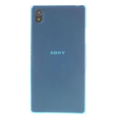 Ультратонкий кейс чехол для Sony Xperia Z1 синий