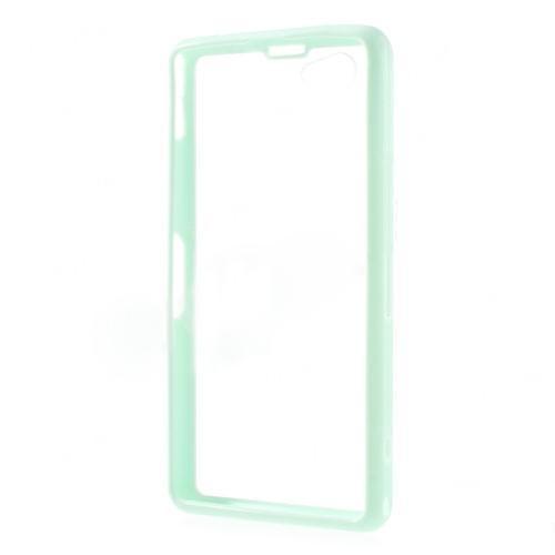 Силиконовый чехол для Sony Xperia Z1 Compact Crystal&Light Green