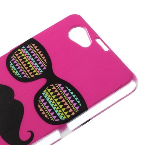 Кейс чехол для Sony Xperia Z1 Compact Le Moustache Rose