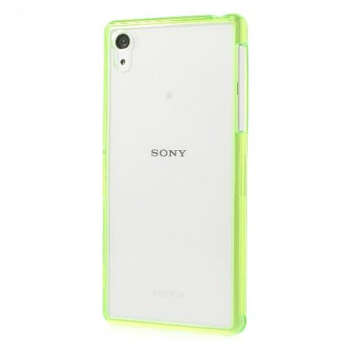 Силиконовый чехол для Sony Xperia Z2 Crystal&Green