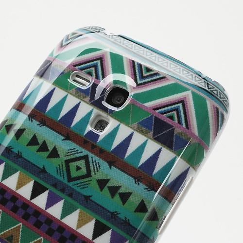 Кейс чехол для Samsung Galaxy S3 mini African Triangle
