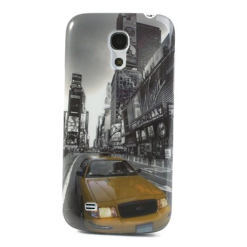 Кейс чехол для Samsung Galaxy S4 mini Street Car