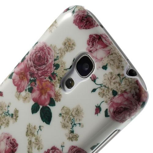 Кейс чехол для Samsung Galaxy S4 mini  Flowers