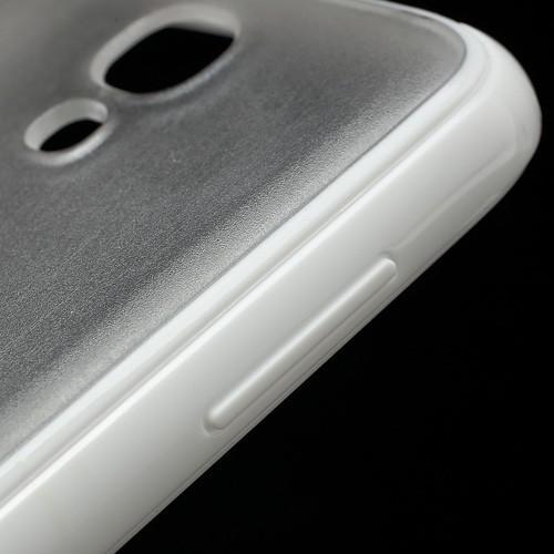 Силиконовый чехол для Samsung Galaxy S4 Crystal and White