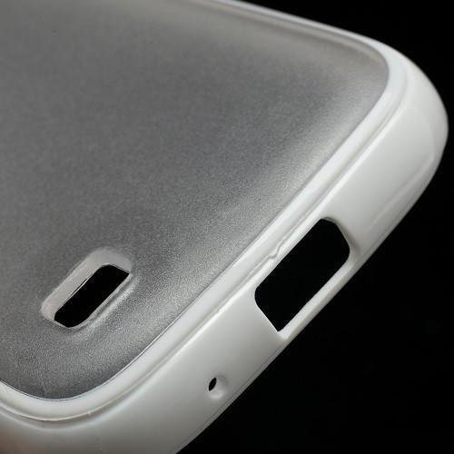 Силиконовый чехол для Samsung Galaxy S4 mini Crystal and White