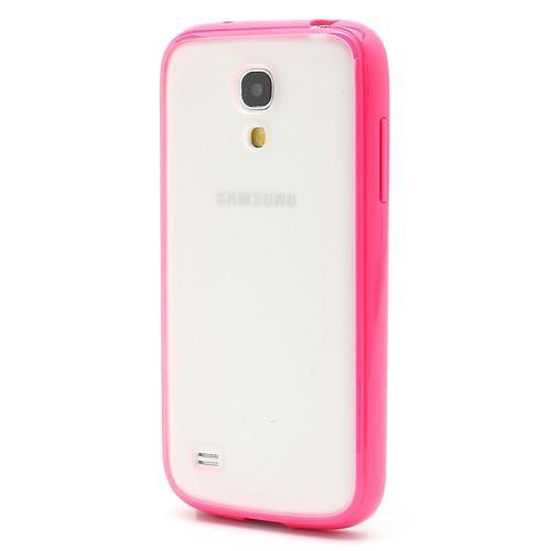 Силиконовый чехол для Samsung Galaxy S4 mini Crystal and Pink