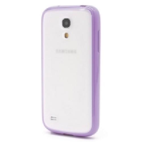 Силиконовый чехол для Samsung Galaxy S4 mini Crystal and Purple