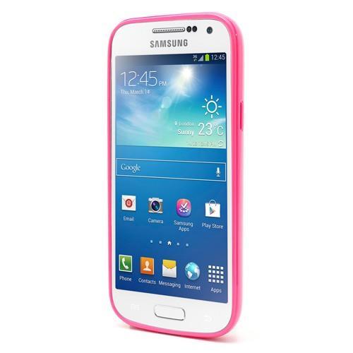 Силиконовый чехол для Samsung Galaxy S4 Crystal and Pink