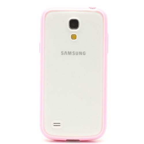 Силиконовый чехол для Samsung Galaxy S4 mini Crystal and Light Rose